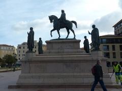 Monument commémoratif Napoléon 1er et ses frères - Deutsch:   Ajaccio - Monument commémoratif Napoléon et ses frères
