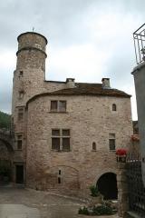 Maison du Bailli ou «manoir Toulouse-Lautrec» à Boussagues - Français:   La Tour-sur-Orb (Hérault) - maison du bailli, 16° siècle.