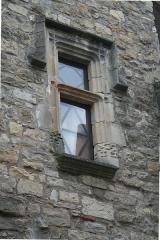 Maison du Bailli ou «manoir Toulouse-Lautrec» à Boussagues - Français:   La Tour-sur-Orb (Hérault) - fenêtre de la maison du bailli, 16° siècle
