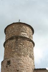 Maison du Bailli ou «manoir Toulouse-Lautrec» à Boussagues - Français:   La Tour-sur-Orb (Hérault) - pigeonnier de la maison du bailli, 16° siècle