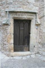 Maison du Bailli ou «manoir Toulouse-Lautrec» à Boussagues - Français:   La Tour-sur-Orb (Hérault) - porte de la maison du bailli, 16° siècle