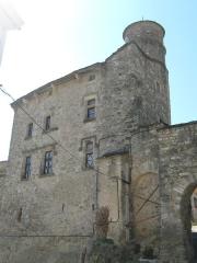 Maison du Bailli ou «manoir Toulouse-Lautrec» à Boussagues - maison du bailly