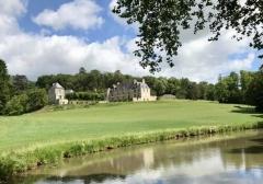 Château d'Hodebert - English:   Saint-Patern-Racan - Château d\'Hodebert