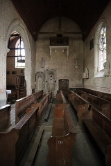 Eglise paroissiale Saint-Sixte - Chapelle nord de l'église Saint-Sixte de La Chapelle-Rainsouin (53).