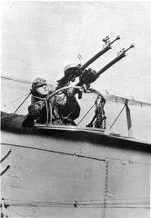 Cimetière américain et la chapelle de Meuse-Argonne - English: Second Lt. Erwin R. Bleckley, a U.S. Army Air Service observer (U.S. Air Force photo).