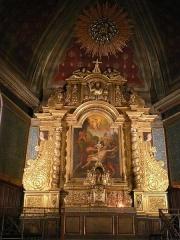 Eglise Saint-Laurent - English:   Saint-Laurent\'s church of Cambo-les-Bains (Pyrénées-Atlantiques, Aquitaine, France).