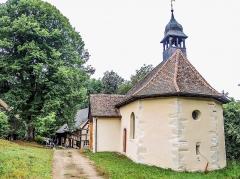 Chapelle Saint-Brice - Français:   Chapelle et hameau Saint-Brice