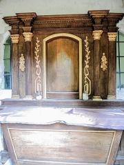 Chapelle Saint-Brice - Français:   Autel de la chapelle adventive sud, de la chapelle Saint-Brice