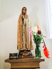 Chapelle Saint-Brice - Français:   Statue de la Vierge