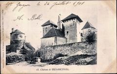 Château de Besanceuil -  Le  château de Besanceuil de  Bonnay Saône-et-Loire