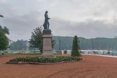 Statue de Berthollet - Polish Wikimedian and photographer Free-license photographer