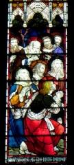 Cathédrale américaine de Paris - Vitrail de la cathédrale américaine de la Sainte-Trinité de Paris (75008).