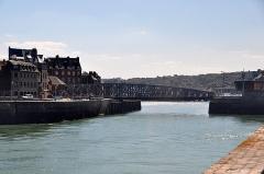 Pont Colbert -  Dieppe am Hafen