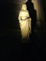 Cathédrale Saint-Pierre Saint-Paul - Français:   Cathédrale Saint-Pierre-et-Saint-Paul de Troyes (Aube, France): sainte Mâtie