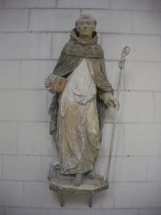 Eglise Saint-Jean -  Église Saint-Jean-du-Marché de Troyes (Aube, France): saint Bernard