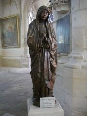 Eglise Saint-Nizier -  Église Saint-Nizier de Troyes (Aube, France): Vierge