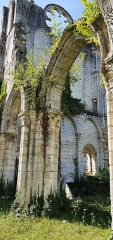 Eglise abbatiale de Blanchefosse (restes) - Deutsch:   Kloster Bonnefontaine (Abbaye de Bonnefontaine) Blanchefosse-et-Bay 03