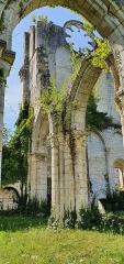 Eglise abbatiale de Blanchefosse (restes) - Deutsch:   Kloster Bonnefontaine (Abbaye de Bonnefontaine) Blanchefosse-et-Bay 05