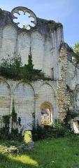 Eglise abbatiale de Blanchefosse (restes) - Deutsch:   Kloster Bonnefontaine (Abbaye de Bonnefontaine) Blanchefosse-et-Bay 08