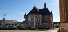 Eglise - Deutsch:  Église Saint-Nicolas de Signy-le-Petit département français des Ardennes 04