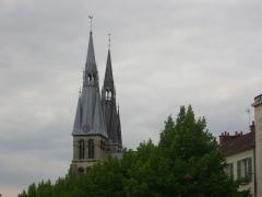 Eglise Notre-Dame-en-Vaux et son cloître -  Collégiale Notre-Dame-en-Vaux à Châlons-en-Champagne (Marne, France), tours