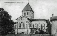 Eglise - Français:   vue du village.