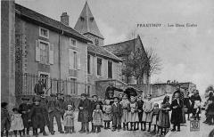 Eglise de Prauthoy - Français:   par une vue ancienne.