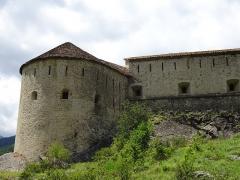 Enceinte fortifiée de la ville - Français:   Fort de Savoie, de l\'ensemble fortifié de Colmars, Alpes de Haute-Provence, Provence-Alpes-Côte d\'Azur, France