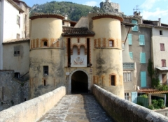 Château - English:  Entrevaux, France
