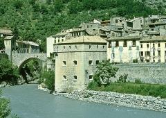 Château -  Entrevaux: Pont de la Porte Royale