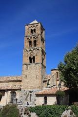 Eglise - English:  Church Notre-Dame-de-l'Assomption at Moustiers-Sainte-Marie