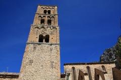 Eglise - English:  Church Notre-Dame-de-l'Assomption, Moustiers-Sainte-Marie