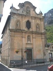 Chapelle inférieure de l'Assomption ou chapelle des Pénitents Blancs d'en-bas - Italiano:  Briga Marittima (FRANCE), Oratorio dell'Assunta