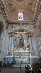 Eglise Saint-Michel - Français:   Intérieur de la cathédrale Saint-Michel de Sospel (Alpes-Maritimes, France).