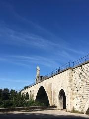 Chapelle et pont Saint-Bénézet - Français:   Pont Saint-Bénézet chapelle Saint-Bénézet, pont