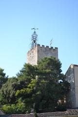Tour de l'Horloge, dit aussi ancien château des comtes de Toulouse - Français:   Tour de l\'Horloge