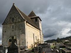Eglise Saint-Martin - Deutsch:   Église Saint-Martin de Limeuil Friedhof