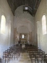 Eglise Saint-Martin - Deutsch:   Église Saint-Martin de Limeuil innen
