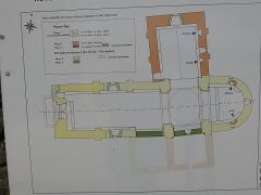 Eglise Saint-Martin - Deutsch:   Église Saint-Martin de Limeuil Plan