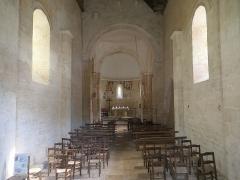 Eglise Saint-Martin - Deutsch:   Église Saint-Martin de Limeuil Schiff