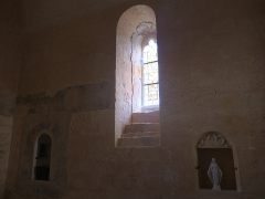 Eglise Saint-Martin - Deutsch:   Église Saint-Martin de Limeuil Stufen