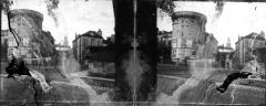Tour Mataguerre - Fonds Trutat - Photographie ancienne  Cote: TRU C 1713 Localisation: Fonds ancien (S 30)  Original non communicable  Titre: Tour, Périgueux  Auteur: Trutat, Eugène Rôle de l'auteur: Photographe  Lieu de création: Périgueux (Dordogne) Date de création:  1859-1910 [entre]  Mesures:: 5 x 6 cm  Observations:  Note manuscrite de Trutat: \