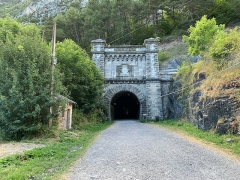 Tunnel de Pau-Canfranc -  Canfranc, España, August 2019