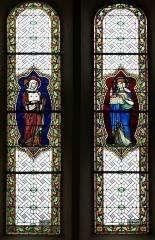 Eglise catholique des Saints-Innocents -  Alsace, Bas-Rhin, Église des Saints-Innocents de Blienschwiller (PA00084626, IA00115160).  Verrières