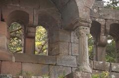 Vestiges du château de Landsberg - Français:   Château du Landsberg vestiges