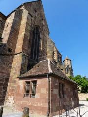 Ancienne abbaye bénédictine - Français:   Alsace, Bas-Rhin, Abbatiale Saint-Étienne de Marmoutier (PA00084783, IA67007715). Transept nord.