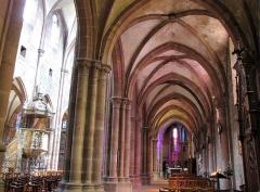 Ancienne cathédrale ou église Saint-Georges -  Alsace, Bas-Rhin, Sélestat, Église Saint-Georges (PA00084978, IA00124588): Bas-côté sud.