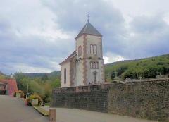 Ancienne église paroissiale, ou chapelle du cimetière - Français:   La chapelle mortuaire Sainte-Madeleine de Steige, vestige de l\'église paroissiale