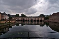 Grande écluse de fortification dite barrage Vauban et ses abords fortifiés - English:  View on the Barrage Vauban in Strasbourg.
