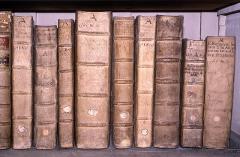 Grand Séminaire -  Ouvrages de la bibliothèque du Grand Séminaire de Strasbourg, reliés à la Chartreuse de Molsheim au XVIIe siècle